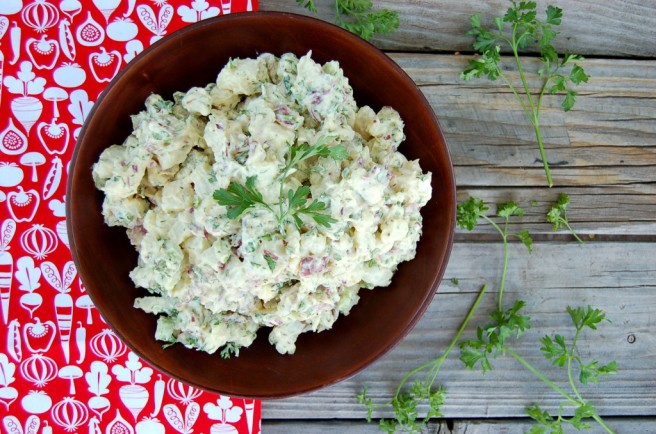 Clean Food Dirty Girl's Vegan Potato Salad